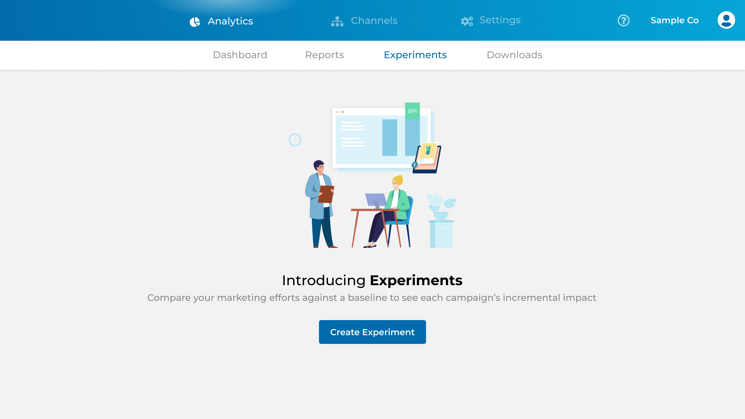 Introducing Experiments dashboard