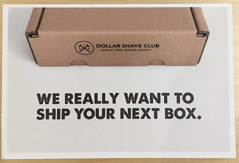 dollar shave club direct mail