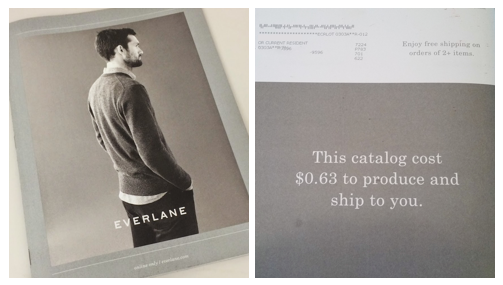 everlane direct mail