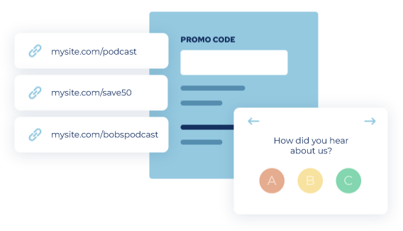 podcasts tracking