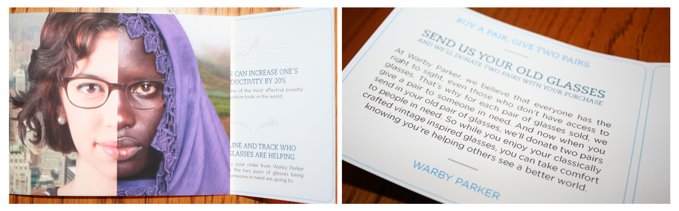 warby parker direct mail